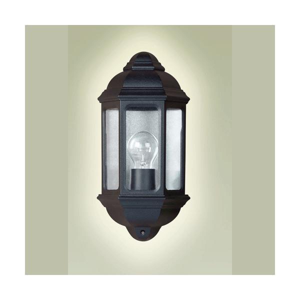 Flush External Wall Lights : Endon Lighting Single Light External Flush Wall Light In Black Finish - Endon Lighting from ...
