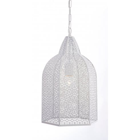 Filigree ceiling light