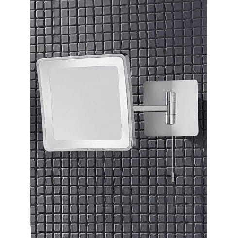 Franklite Magnifying Illuminated Switched Bathroom Mirror