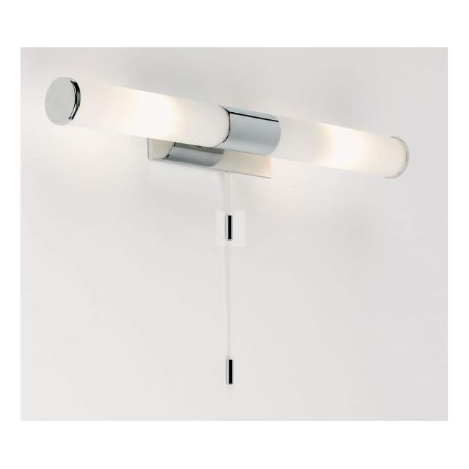 Halogen Bathroom Wall Sconces : Endon Lighting Enluce 2 Light Halogen Bathroom Wall Fitting In Polished Chrome Finish