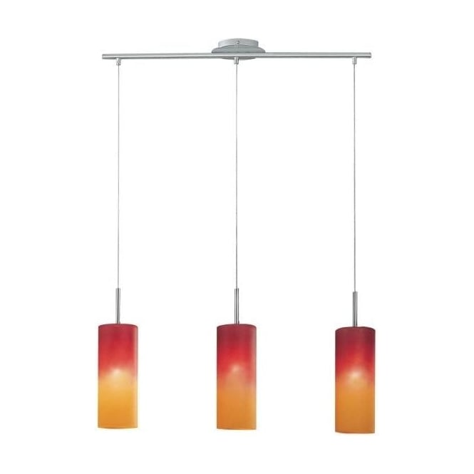 Eglo Lighting Troy 1 Triple Light Ceiling Pendant With