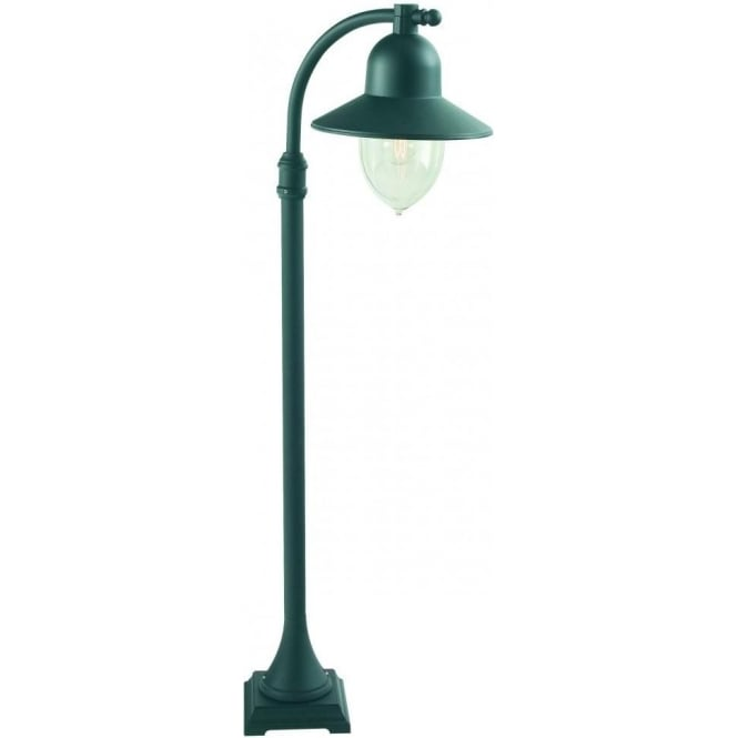Bell Outdoor Post Lights: Elstead Lighting Como Outdoor Lamp Post In Black Finish
