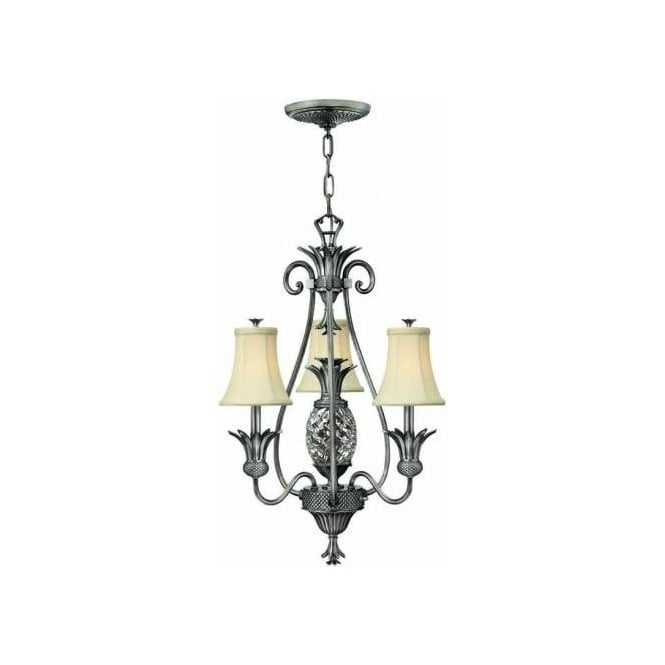 Elstead Lighting Hinkley Plantation 4 Light Chandelier