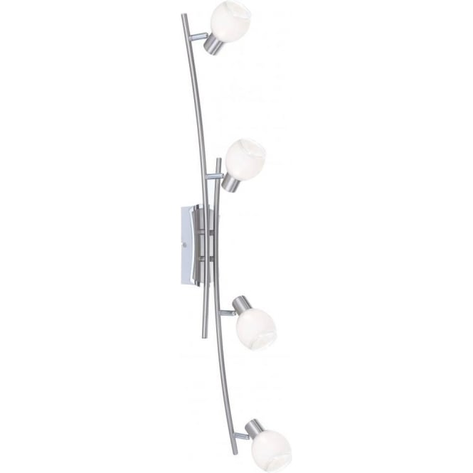 Adela 4 Light LED Ceiling Spotlight with Polished Chrome