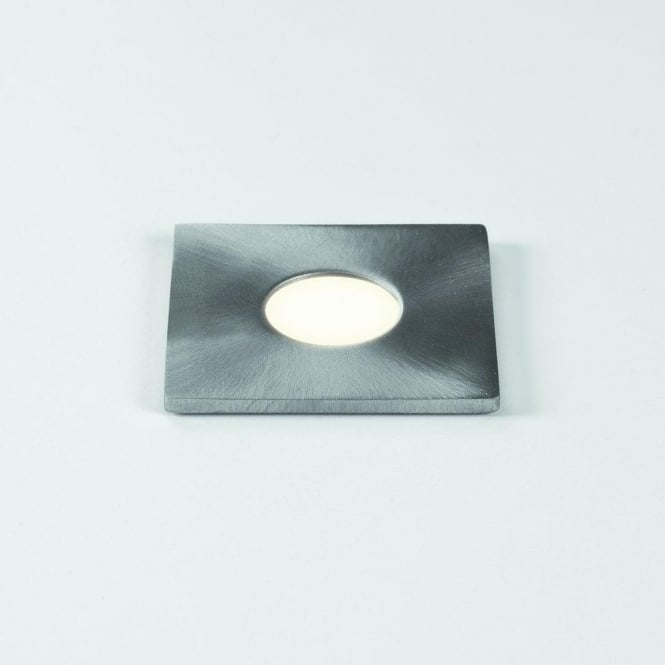 Terra 28 Square Stainless Steel LED Single Light Recessed Fitting