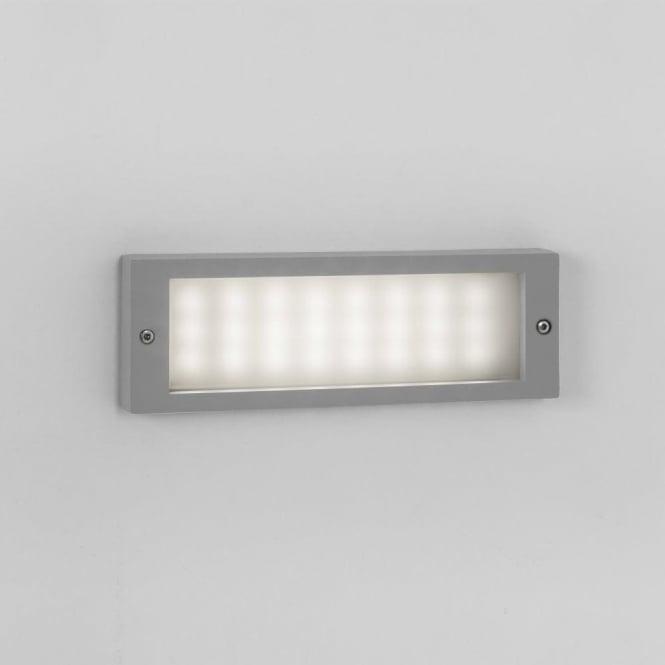 Flush External Wall Lights : Astro Lighting Brick 24 Light LED Flush Exterior Wall Fitting In Silver Finish - Astro Lighting ...