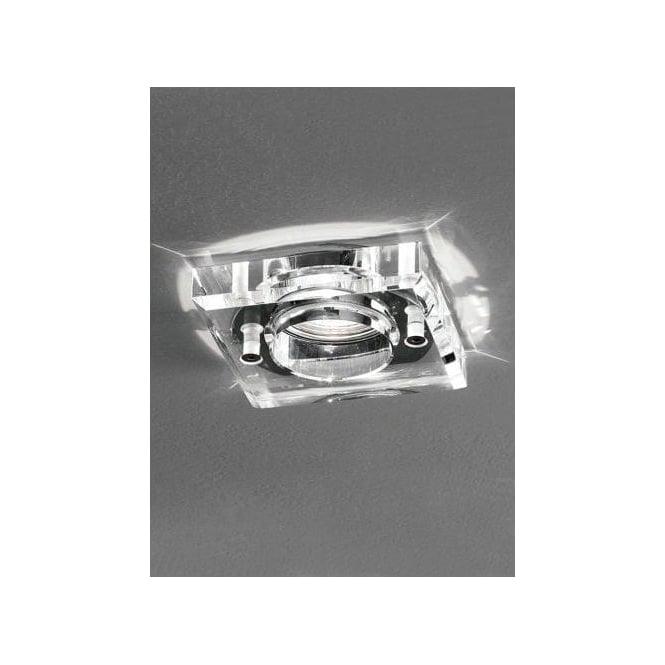 Franklite Recessed Low Voltage Crystal Bathroom Downlight Franklite From Castlegate Lights Uk