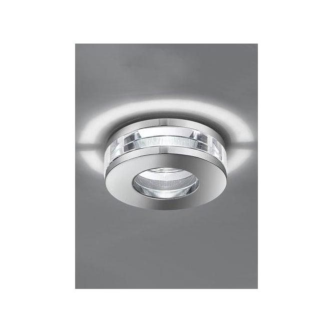 Franklite Low Voltage Recessed Crystal Bathroom Downlight Franklite From Castlegate Lights Uk