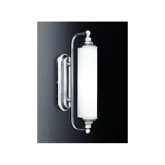 Franklite Cylindrical Mirror Light In Polished Chrome Finish Franklite From
