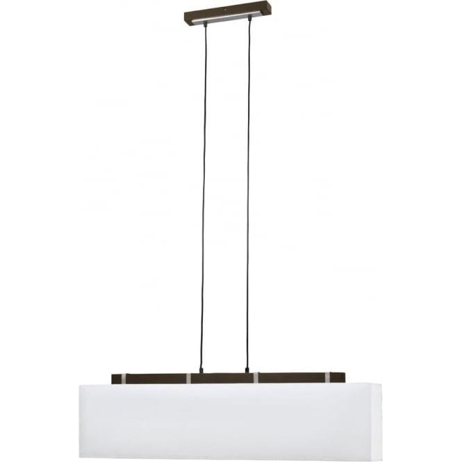Wood Finish Ceiling Lights : Searchlight lighting waverley light ceiling pendant in