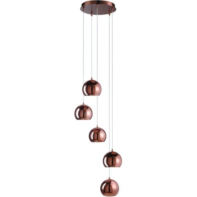 searchlight lighting domas 5 light multi drop ceiling. Black Bedroom Furniture Sets. Home Design Ideas