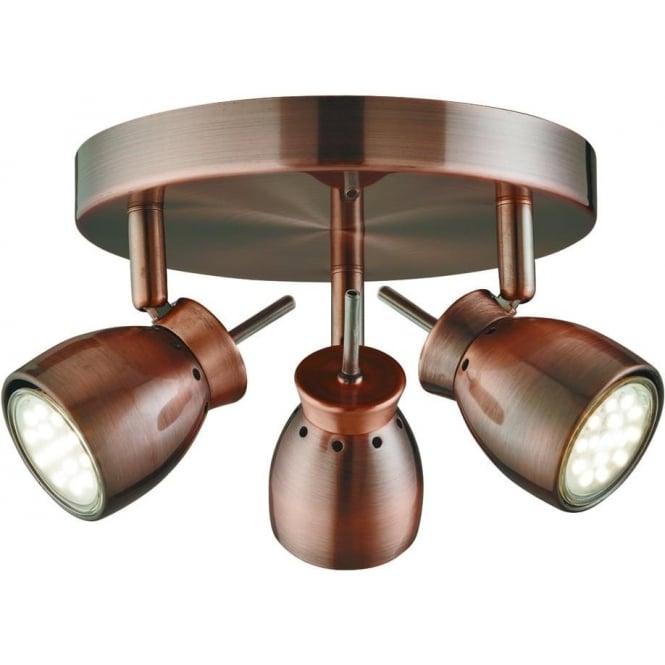 Searchlight Lighting Jupiter LED 3 Light Ceiling Spotlight
