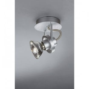 Trix Aluminium 75w Halogen Single Switched Spot Light