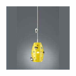 Cheezzz Metal/wood Ceiling Pendant Light