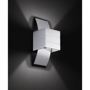 Wofi Via Aluminium Halogen Wall Fitting