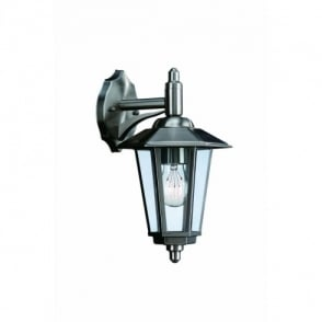 Galvestone Single Light Downward Outdoor Wall Fitting in Stainless Steel Finish