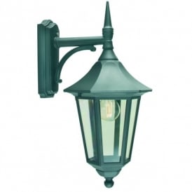 Elstead Lighting Valencia Outdoor Wall Light in Verdigris