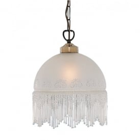Searchlight  Lighting Victoriana Single Light Pendant Fitting