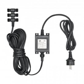 Amalfi 6 Way Transformer For 12 Volt High Powered LED Spot Light System