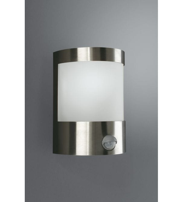 Massive vilnius stainless steel finish outdoor wall light with p i r massive from castlegate - Guide massive bathroom lighting optimum illumination ...