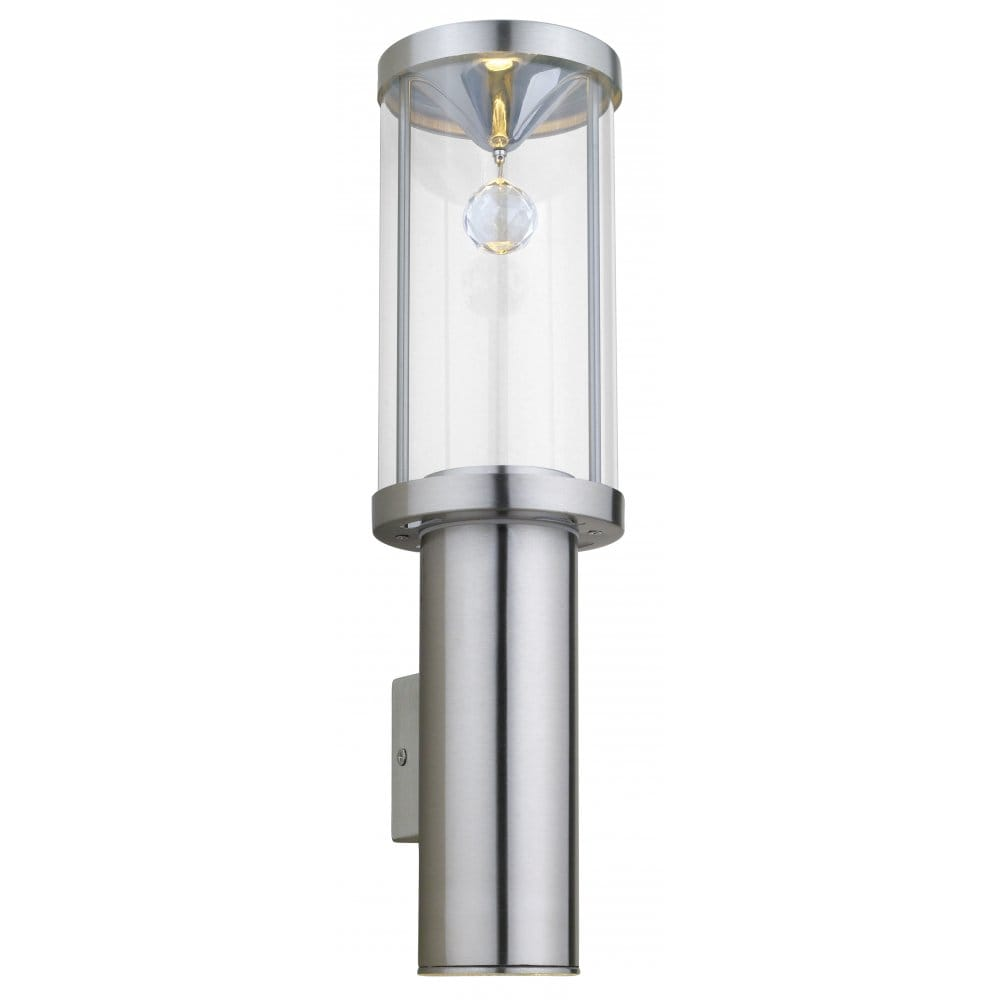 Eglo Lighting Trono Crystal Small Halogen Outdoor Wall Light - Eglo Lighting from Castlegate ...