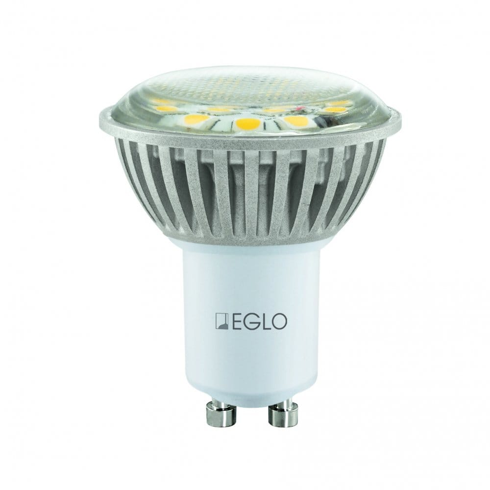 eglo lighting gu10 3w led bulb in warm white eglo. Black Bedroom Furniture Sets. Home Design Ideas