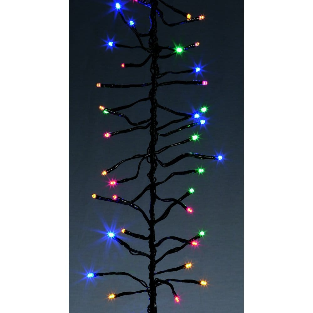 Multi Coloured Christmas Tree Lights
