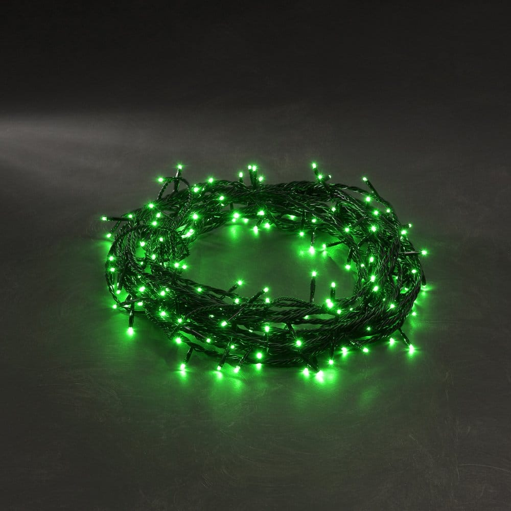 Konstsmide Green Led 120 Multi Function Micro Lights Konstsmide From Castlegate Lights Uk
