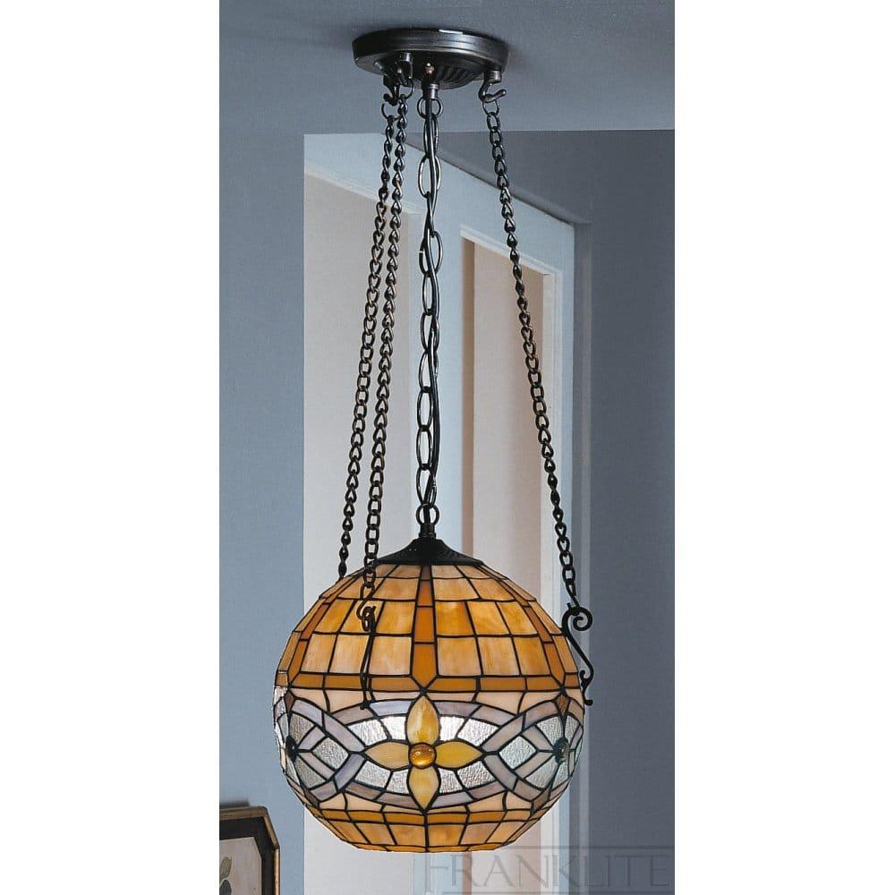 Franklite Cavatina Tiffany Sphere Ceiling Fitting Franklite From Castlegate