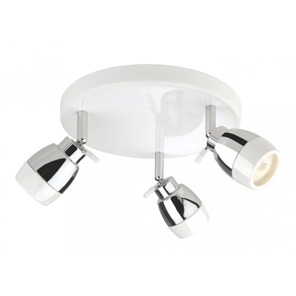 Firstlight Marine 3 Light Halogen Bathroom Ceiling Spot ...