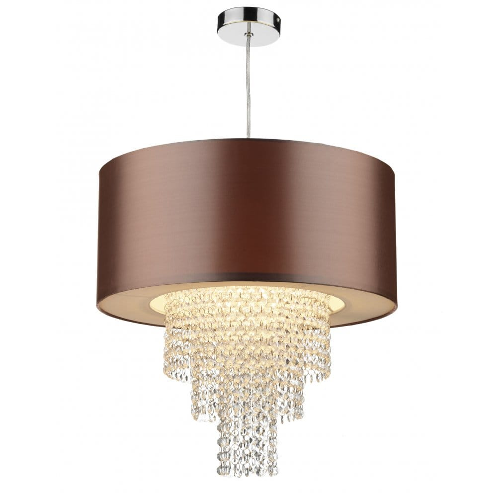 Miller bathroom fittings - Dar Lighting Lopez Non Electric Ceiling Fitting With Gold