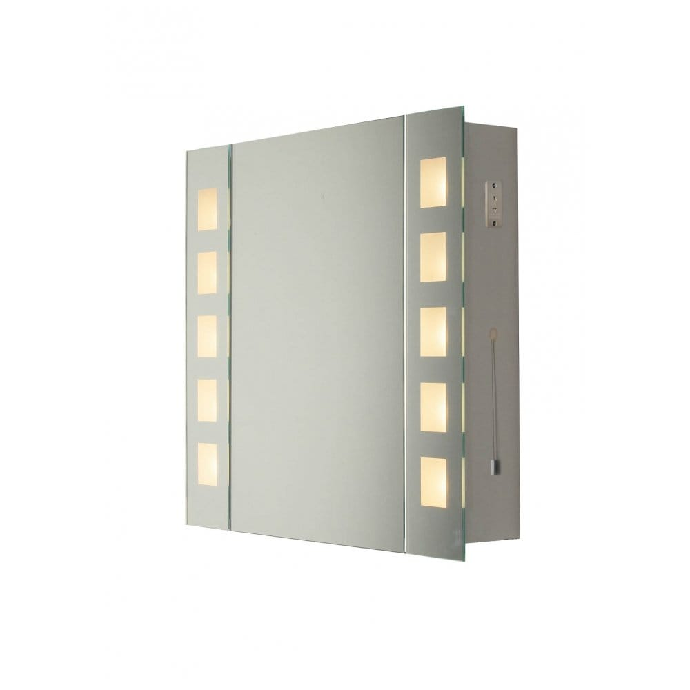 Dar Lighting Zenia 10 Light Bathroom Wall Cabinet Dar Lighting From Castlegate Lights Uk