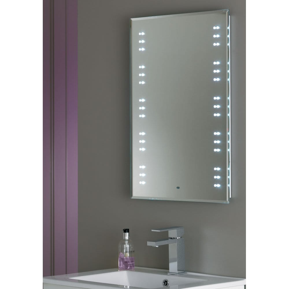 bathroom led light mirror endon lighting kalamos illuminated led