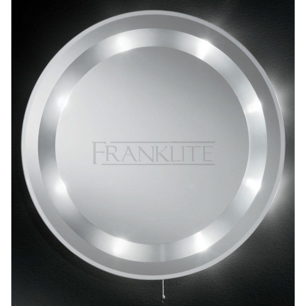 Franklite Bathroom 8 Light Low Voltage Illuminated Mirror - Franklite from Castlegate Lights UK