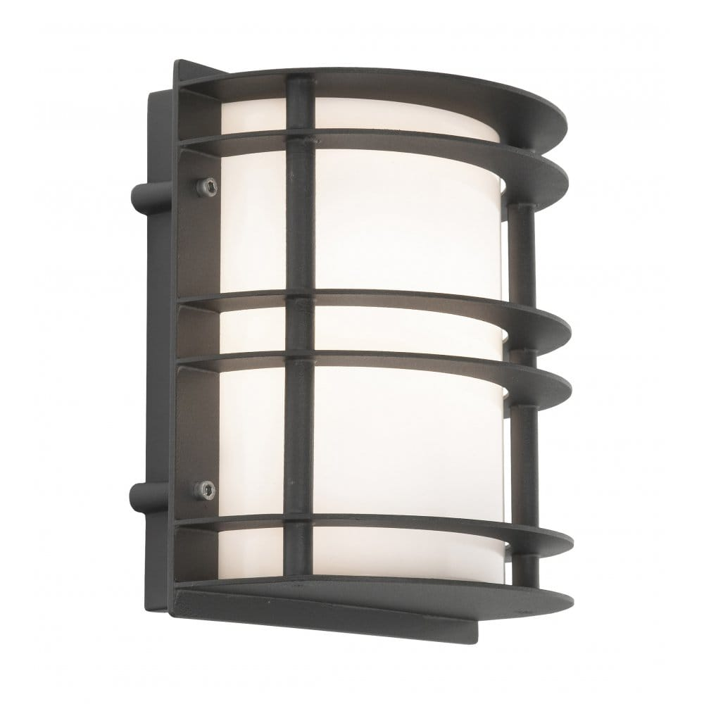Wall Lights For Outside : Elstead Lighting Stockholm Outdoor Wall Light in Black Finish - Elstead Lighting from Castlegate ...