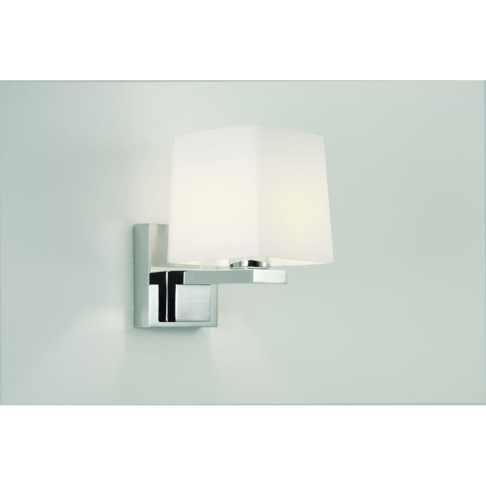 Astro Lighting Broni Square Single Light Halogen Bathroom Wall Fitting - Astro Lighting from ...
