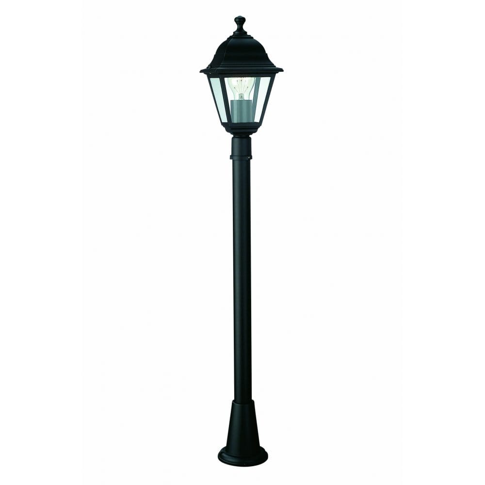 Massive Lima Single Light Outdoor Lamp Post In Black