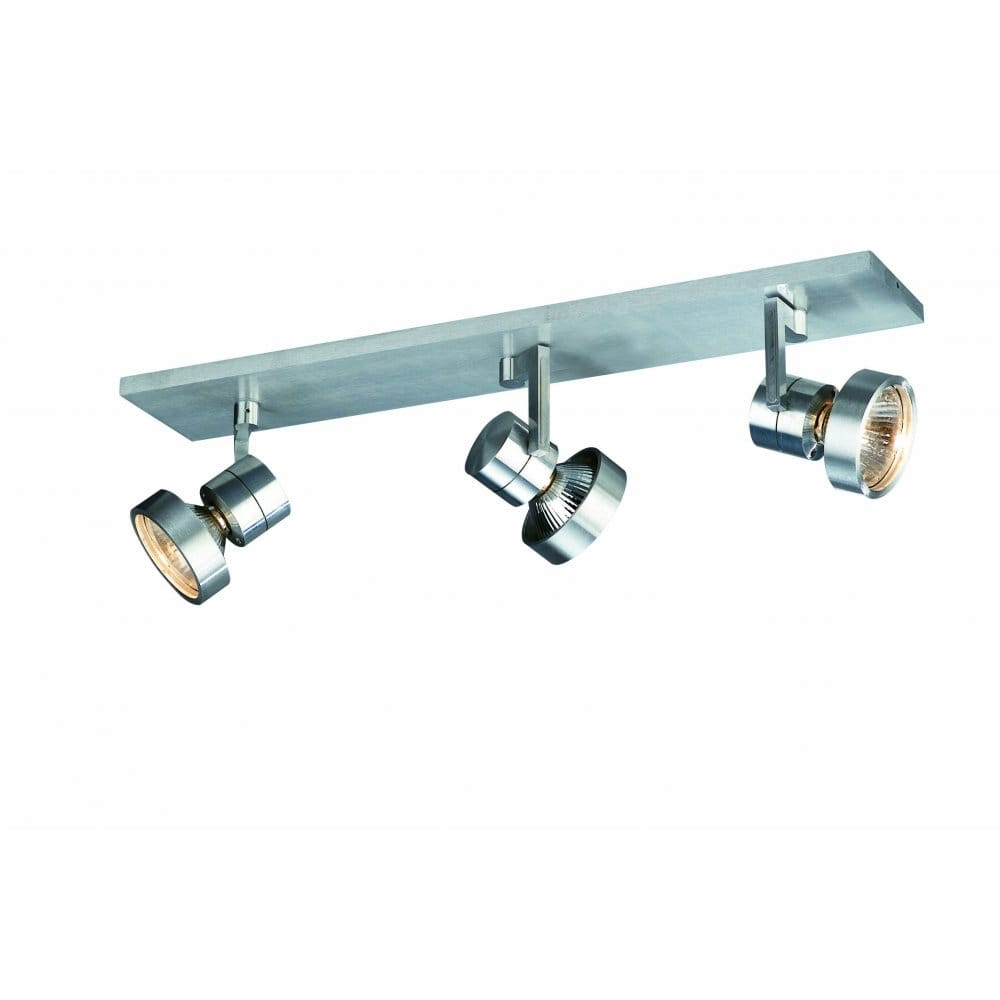 Ceiling Bar Light Fitting : Massive magnus light bar spot ceiling fitting in