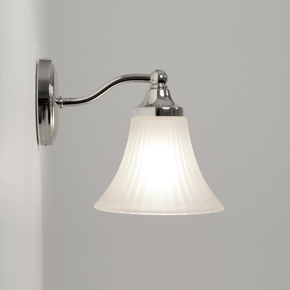 Astro lighting nena single light bathroom wall fitting in for Traditional bathroom wall lights
