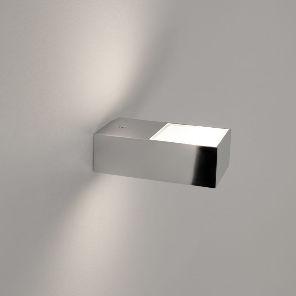 Single Chrome Wall Lights : Astro Lighting Kappa Single Light Bathroom Wall Fitting in Polished Chrome Finish - Astro ...