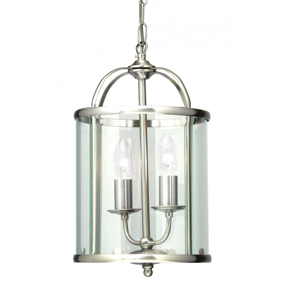 Oaks Lighting Fern 2 Light Ceiling Pendant In Antique