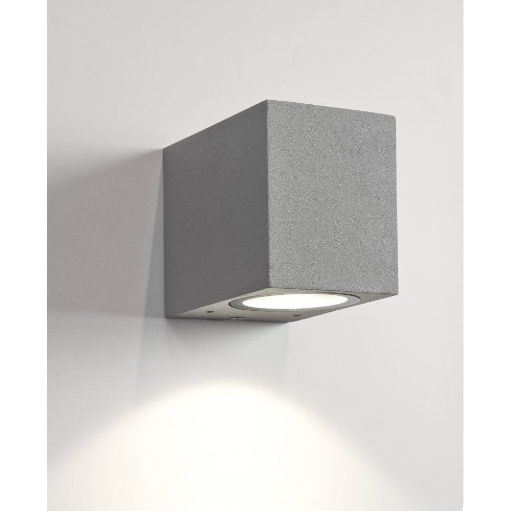 Fitting Outside Wall Lights : Astro Lighting Chios 80 Single Light Exterior Wall Fitting in Painted Silver Finish - Astro ...