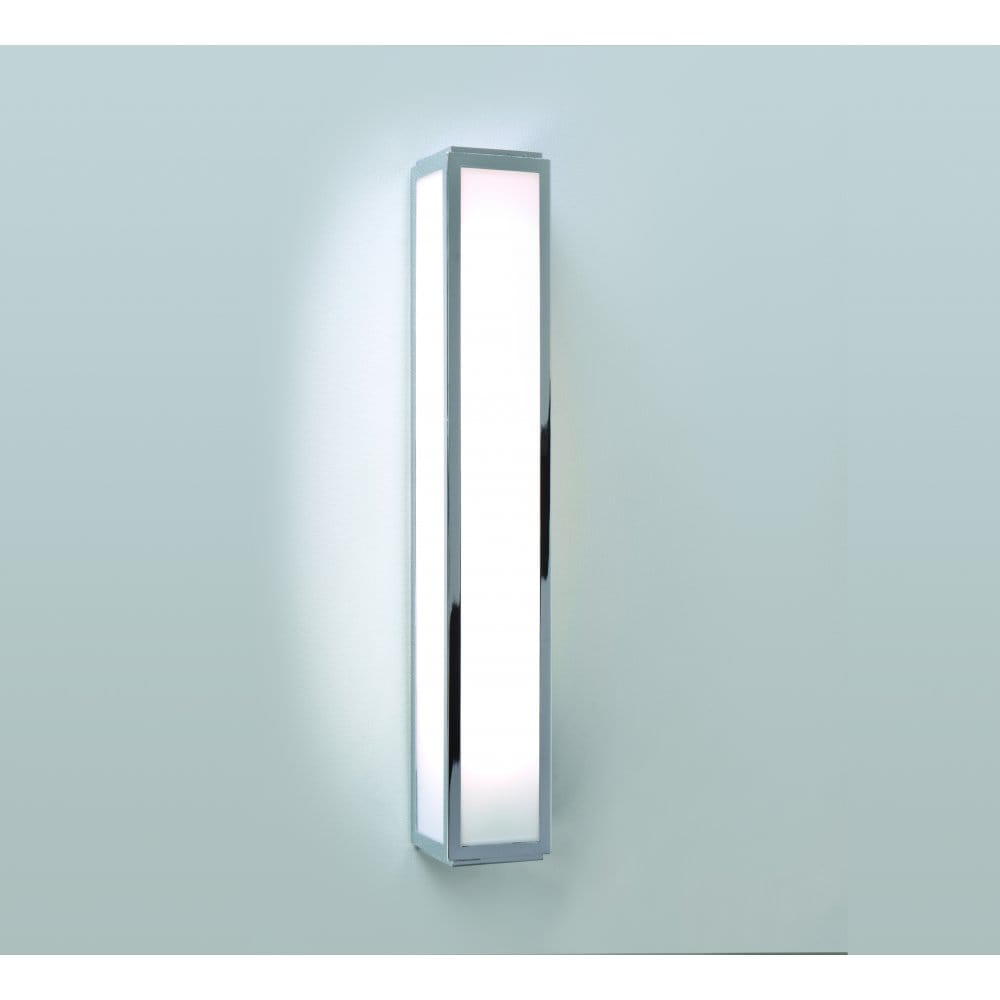 Astro Lighting Mashiko 500 Single Light Low Energy Bathroom Wall Fitting in Polished Chrome ...