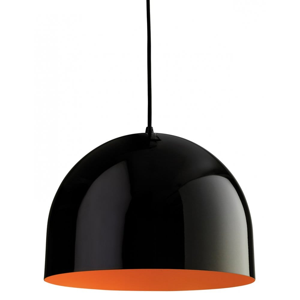 Firstlight House Single Light Pendant With A Black Finish