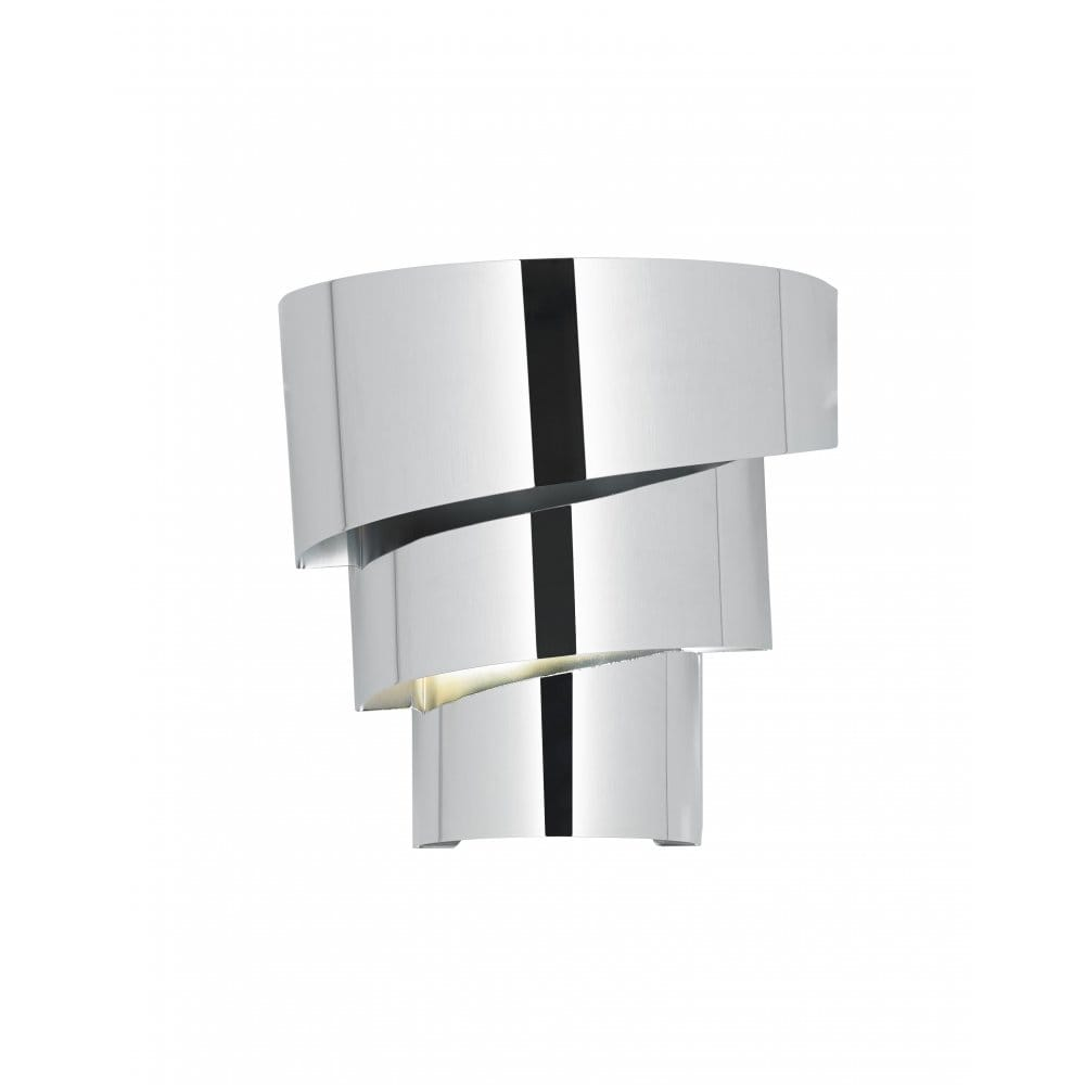 Wall Light Fitting Instructions : Endon Lighting Everett Single Light Wall Fitting In Polished Chrome Finish - Endon Lighting from ...