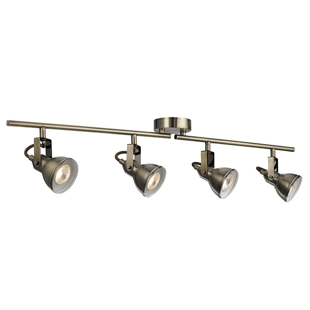 Searchlight Lighting Focus 4 Light Ceiling Spotlight Bar