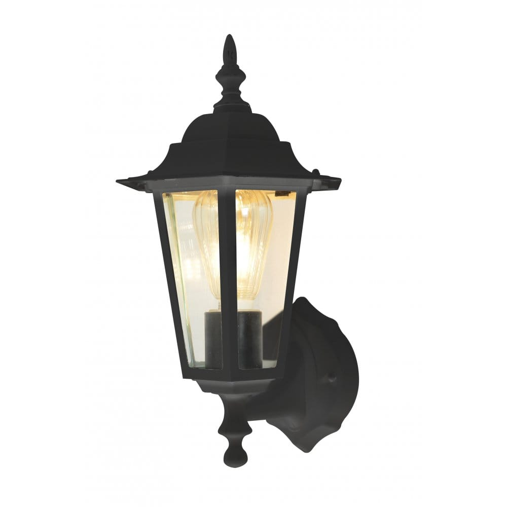 Forum Lighting ZN-20954-ATR Hermes Single Light Outdoor Wall Lantern in an Anthracite Grey ...