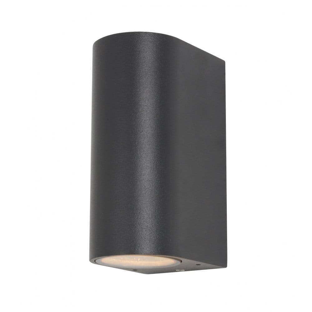 External Wall Lights Up And Down : Forum Lighting Isis 2 Light External Up and Down Wall Fixture in an Anthracite Grey Finish ...