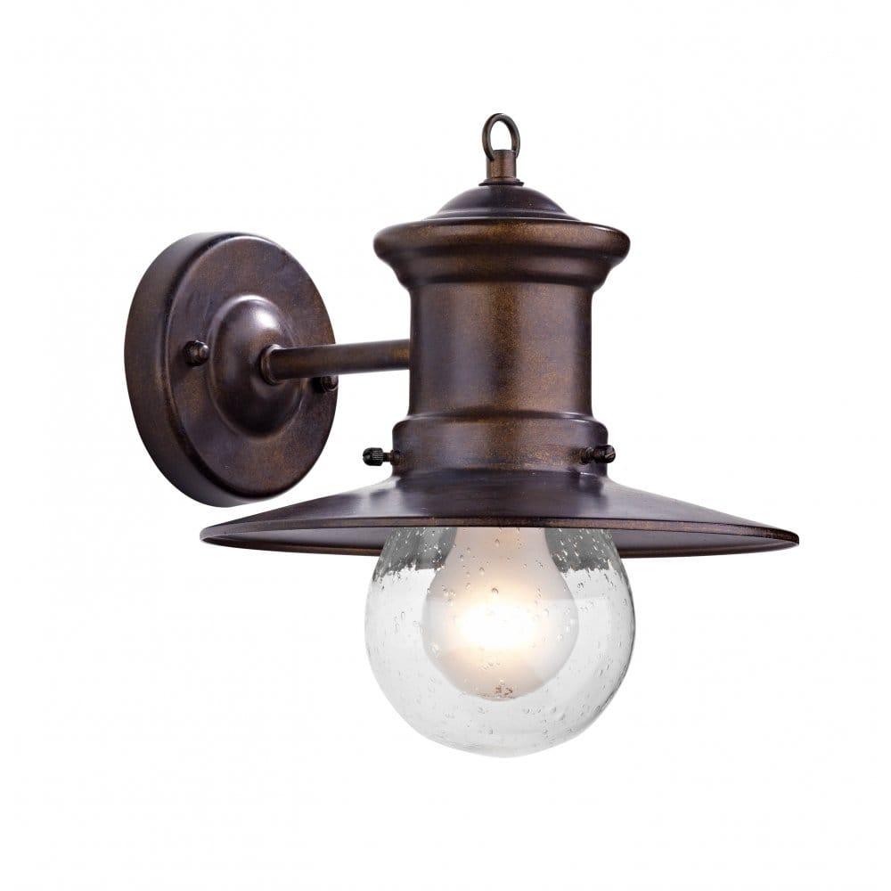 Dar Lighting Sedgewick Single Light Outdoor Wall Fixture in a Bronze Finish - Dar Lighting from ...