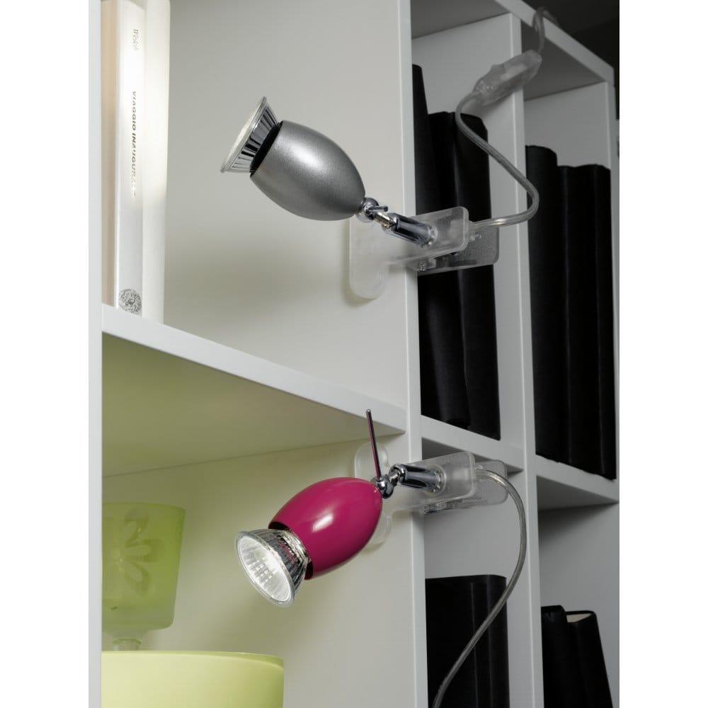 eglo lighting banny single light halogen clip on table. Black Bedroom Furniture Sets. Home Design Ideas